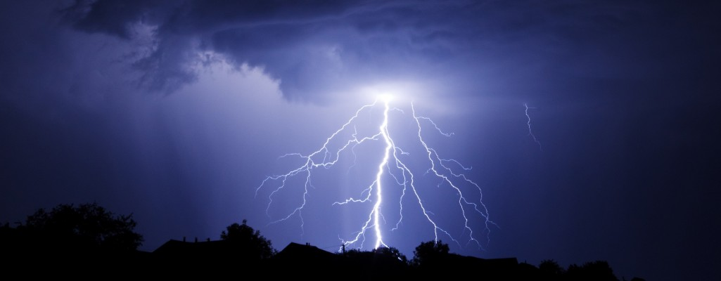 Lightning Storm, shutterstock