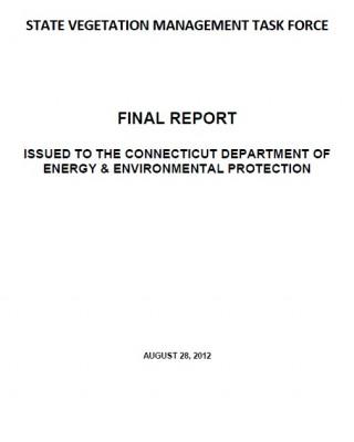State vegetation mgmt task force link