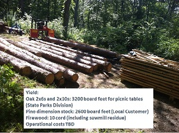 wood recovery + yield